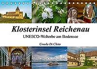 Klosterinsel Reichenau - UNESCO-Welterbe am Bodensee (Tischkalender 2022 DIN A5 quer): Impressionen der Klosterinsel Reichenau am Bodensee (Monatskalender, 14 Seiten )