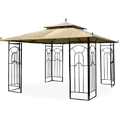 Garden Winds 12 x 12 Arrow Gazebo Replacement Canopy Top Cover - RipLock 500