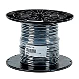 Cavo elettrico multi-conduttore per elettrovalvole e programmatori di irrigazione, nero