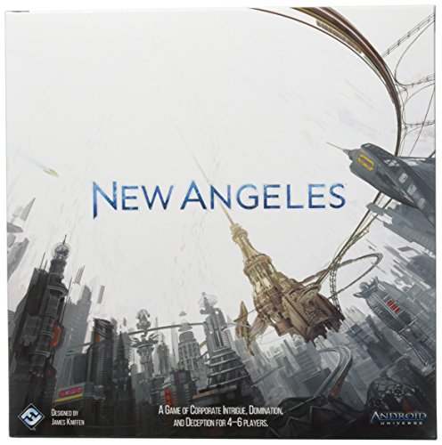 Fantasy Flight Games FFGAD03 New Angeles, Brettspiel