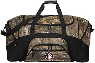 Large Camo Florida State Duffel Bag Or Camo FSU Gym Bag