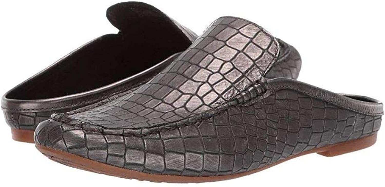 Born Capricorn - Annamaria Collection Women's shoes Pewter Croc Metallic