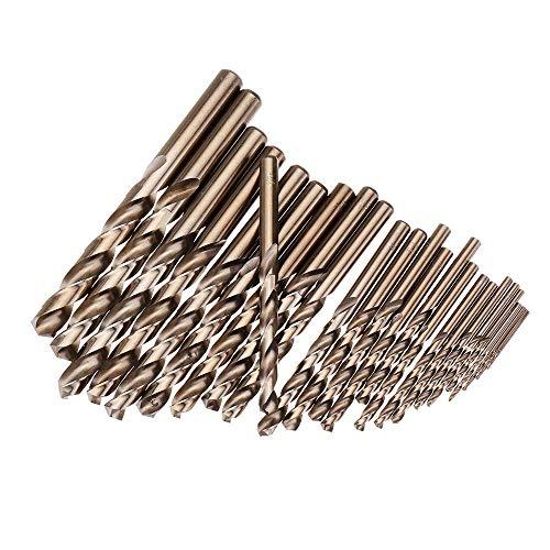 CT-CT Drill 25Pcs 1-13Mm Hss M35 Cobalt Twist Drill Bit Set for Metal Wood Drilling Tools