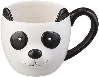 Price & Kensington Fine Durable China 430 ml Panda Woodland Hand Painted Mug, Porcelain, Multi, 13.5 x 9 x 10 cm