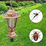 Liuting Haushaltsgeräte .Household Outdoor Solar Moskito-Mörder Dekorative insektizide Lampe