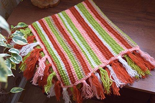 Wolle strickte Decke Decken Kanapee Sofa Wollwurf Bettwäsche