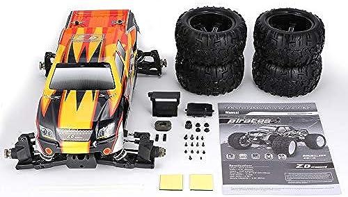 promocionales de incentivo Peanutaso ZD ZD ZD Racing 9116 1 8 Escala 4WD Bigfoot RC Cuerpo del chasis del Bastidor del vehículo Todoterreno camión Cubierta de la Rueda Rueda DIY Piezas de Repuesto  la red entera más baja