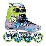 Spokey Freestyle Rollers ABEC 7 Skate Rollers Slalom Kate Inliner de Rollers pour de slalom pour erwaschene kinderin Liner Gutsy?39