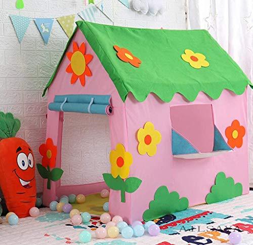 Pop-up Kinderen Speeltent Draagbaar Speelhuis Buitenspeelgoed Kinderfeesttenten, Opvouwbaar Milieuvriendelijk Materiaal Binnen/buiten Ontdekkingsspel Tenten Tuinhuis,C