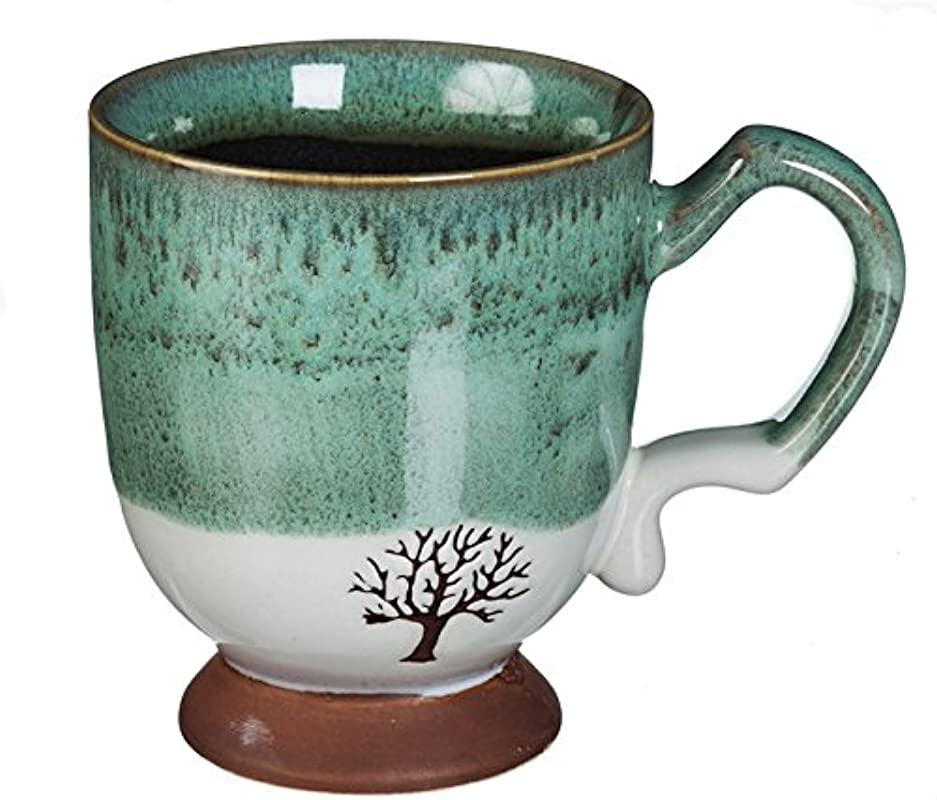 Cypress Home Artisan Series With Stamped Accent Tree 14 Ounces