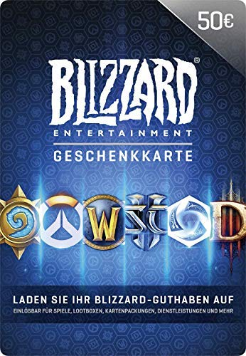 Blizzard-Geschenkkarte 50 EUR | PC Code & Grand Theft Auto V - Standard Edition [PC Code - Rockstar Social Club]