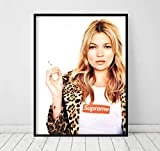 DROB Collectibles Poster Kate Moss Supreme Model 02