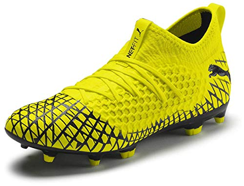 PUMA Mens Future 4.3 Netfit Fg Ag Soccer Cleats - Yellow -...