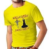 lepni.me Camisetas Hombre Disfraces Fiesta de Danza de Halloween Eventos Traje Ideas (X-Large Amarillo Multicolor)