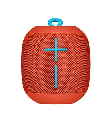 Ultimate Ears Bluetooth スピーカー WS650RD レッド (FIREBALL) 防水 IPX7 ワイヤレス ポータブル 10時間連続再生 WONDERBOOM 国内正規品 2年間メーカー保証