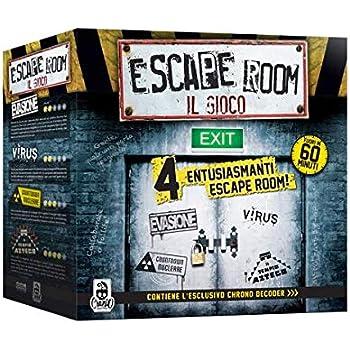 Cranio Creations- Escape room - Gioco da Tavolo, Multicolore, CC111