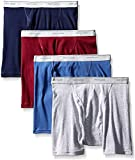Fruit of the Loom Men's Boxer Briefs(Pack of 4) (Assorted - 6pk, X-Large)