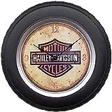 Gimmick World Genuine Harley-Davidson Plastic Wall Clocks 16' Analog Wall Clock