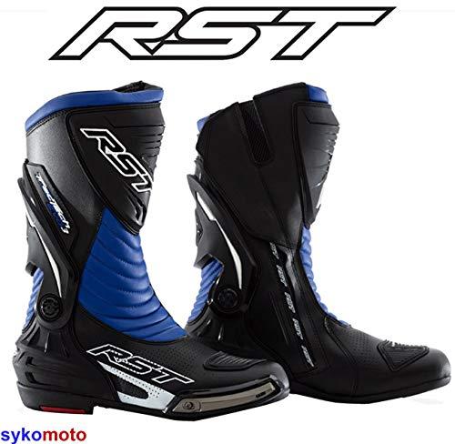 37 EU//4 UK Viper Kinder K156 Leder Motocross Motorrad Sport Ratchets SCHWARZ Stiefel