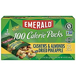 Emerald Nuts Variety Pack, 100 Calorie Almonds, Walnuts, Cashews, 64 Count Total (.Variety Pack – 64 Count Total)