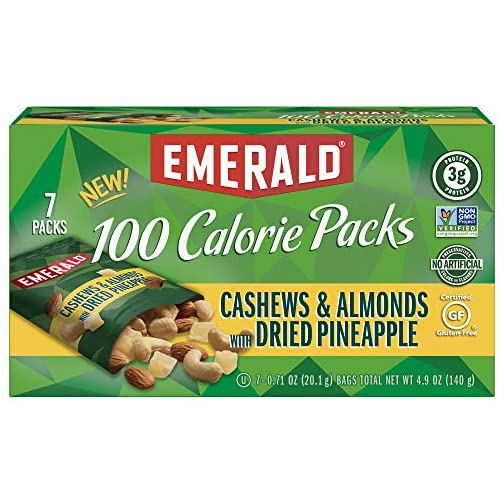 Emerald Nuts, Dry Roasted Almonds 100 Calorie Packs, 0.63 Ounce (Pack of 84) 3