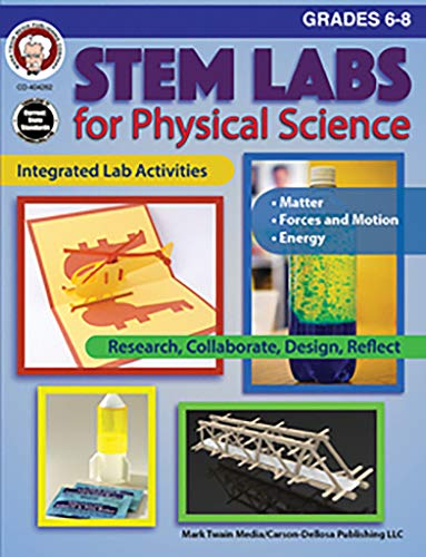 Mark Twain - STEM Labs for Physical Science, Grades 6 - 8