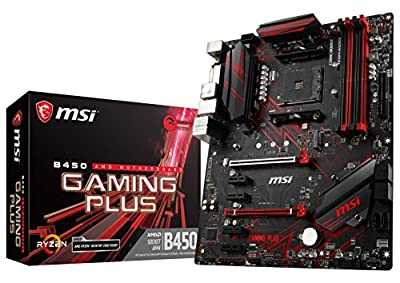 MSI Performance Gaming AMD Ryzen 1st and 2nd Gen AM4 M.2 USB 3 DDR4 DVI HDMI Crossfire ATX Motherboard