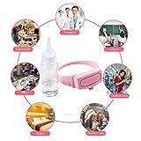 Wristband Hand Dispenser This Wearable Hand Sanitizer Dispenser Pumps (D)