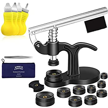 ONEBOM Watch Tool Set Watch Repair Kit Professional with Everything for Various Kinds of Watch  Watch Press Kit
