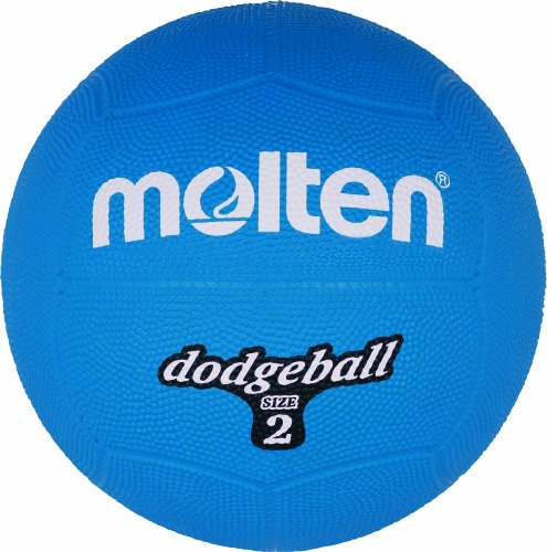 Molten Dodgeball Blau Ball, one Size