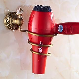 CHUTD Support de sèche-Cheveux, étagère pour sèche-Cheveux, Support de sèche-Cheveux, étagère Murale pour Tube de Rangemen...