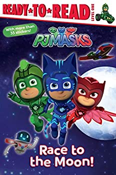 Race to the Moon! Ready-to-Read Level 1 PJ Masks