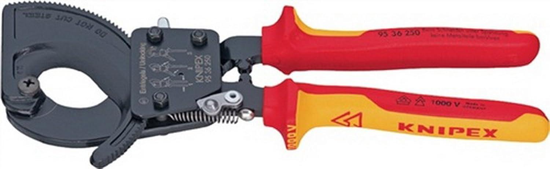 Kabelschneider L.250mm max.240mm2 mit 2Komp.-Hüllen mit Abgleitschutz VDE B00VWNAAHM | Exzellente Verarbeitung