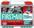 Be Smart Get Prepared 250 Piece First Aid Kit, 1.44 Pound