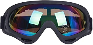 ValueHall Outdoor Windproof Ski Goggles with UV Protection, Motorcycle Riding Glasses CS Army Tactical Military Glasses Safety Goggles V258-1