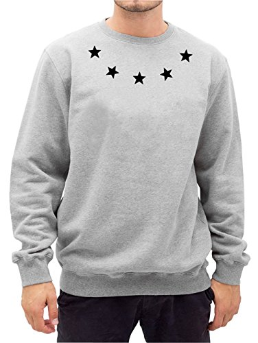 Certified Freak Ring of Stars Sweater Gris-L