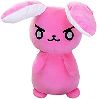 1PC 50cm Overwatches Game Anime Pioneer Dva Rabbit Plush Toys Soft Stuffed Animals Doll Pillows Cosplay Props Kids Toys Gifts