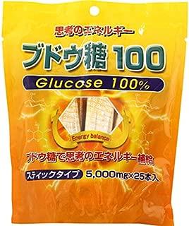 ミヤマ漢方製薬 ブドウ糖100 5g×25本
