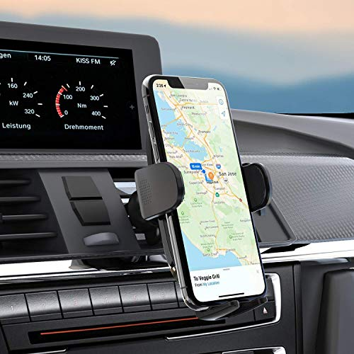 [2021 Upgraded] Car Vent Phone Mount Holder, Air Vent Universal Cell Phone Holder for Car, Vent Clip Phone Car Holder Mount, Compatible with iPhone 12 11 Pro Max XS XR X 8 7 Samsung Galaxy S10 S9 S8