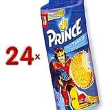 LU Prince Fourre Vanille 24 x 300g Packung (Prinzenrolle Vanille Geschmack)