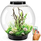 biOrb Classic 105 Liter Black Aquarium with MCR Lighting