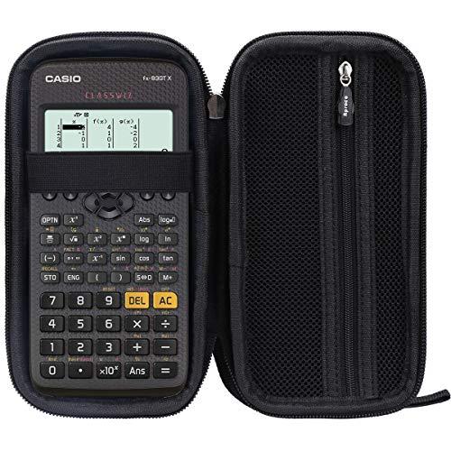 Aproca Duro Viajes Funda Bolso Caso para Casio FX-991DE/ fx-83GTX / FX-991EX / fx-85GTX /FX-991ES/ fx-85es plus Calculadora científica