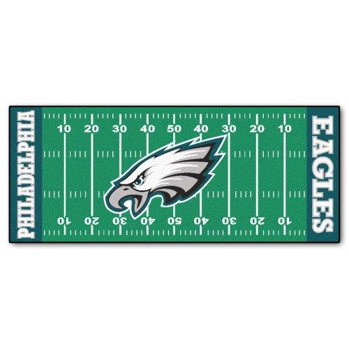 FANMATS NFL Philadelphia Eagles Nylon Face Football Field Runner