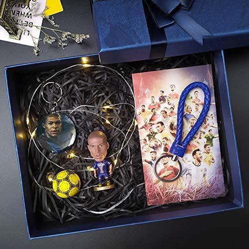 Grafts - Llavero de jugador de fútbol, Fan del Real Madrid, Ronaldo, Exquisito modelo, Liga de Campeones, Muñeca de la Liga de los Campeones, Muñeca modelo de muñeca, regalo de cumpleaños,Mbappe