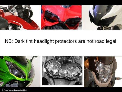 Kawasaki ZZR120002–05/Light Tint–Scheinwerfer Bildschirmschutzfolien
