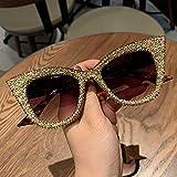 Gafas De Sol De Gran Tamaño para Mujer, Gafas De Sol De Ojo De Gato...