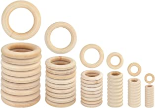 small wooden rings