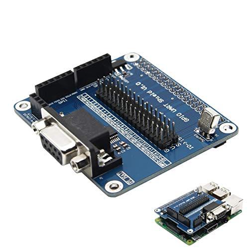 weichuang Elektronisches Zubehör Serial Port Erweiterungsplatine RS232 für RPi G PIO Elektronikzubehör Elektronikzubehör