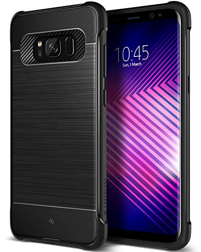 Caseology Vault I for Samsung Galaxy S8 Case (2017) - Black