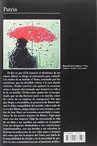 Resumen del libro de Fernando Aramburu PATRIA